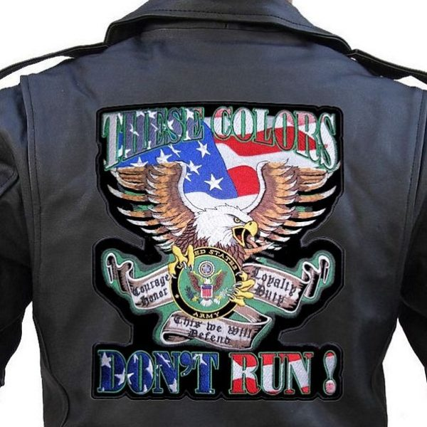 US army biker patch