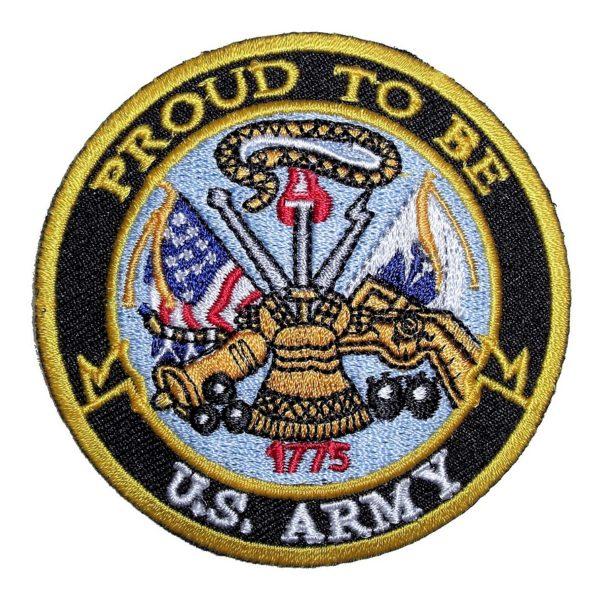 Biker patch US military badge