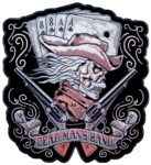 Dead mans hand aces and eights biker patch