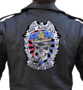 large cop patch