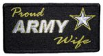 Proud Army wife patch