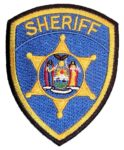 Sheriff badge embroidered patch