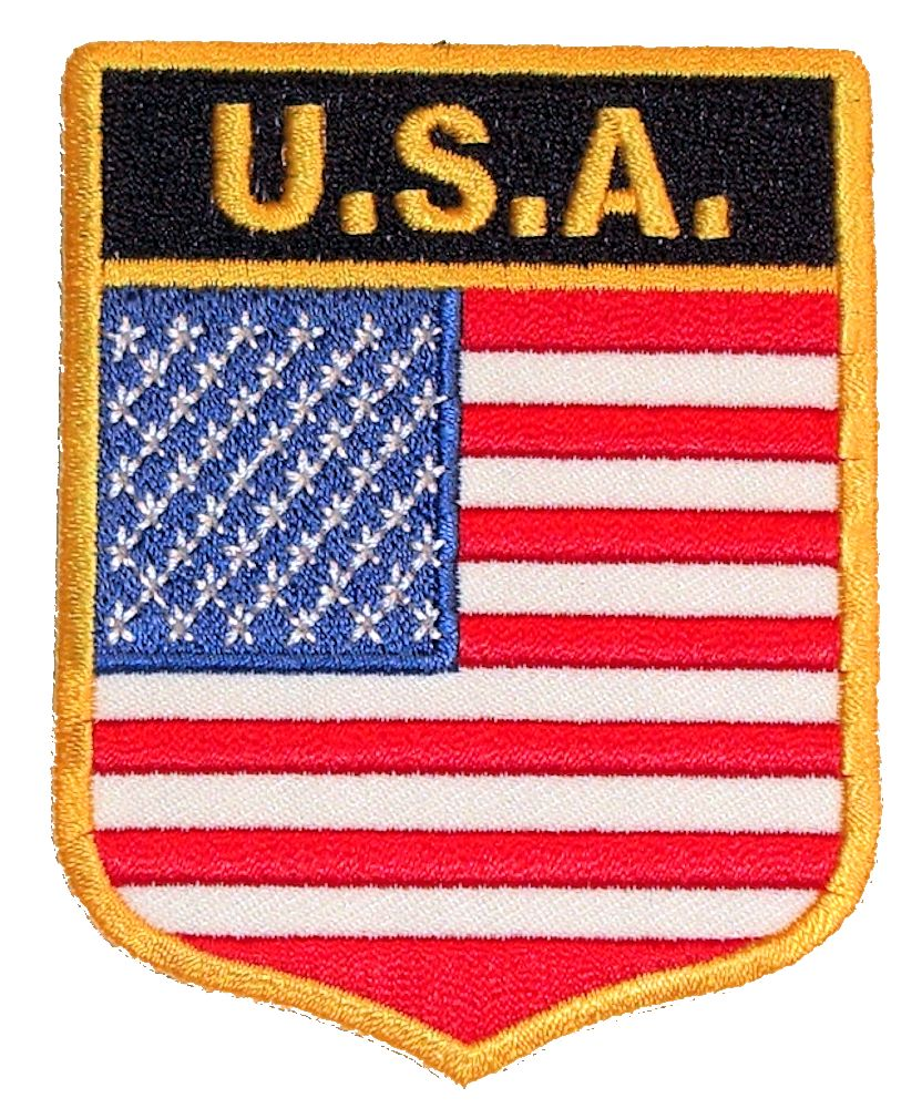Flag Biker Patches Quality Biker Patches