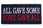 All gave some, some gave all patch