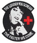 The louder you scream naughty nurse patch