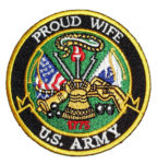 Proud Wife US Army patch
