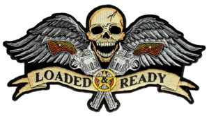 loaded and ready skull patch