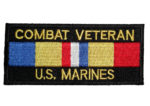 Combat vet Marines patch