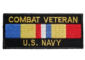 Combat Vet Navy patch