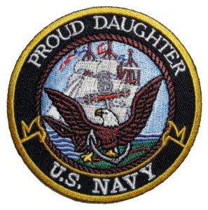 Proud Daughter US Navy patch