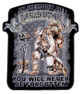 fallen brothers military patch