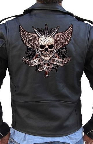 death before dishonor biker patch