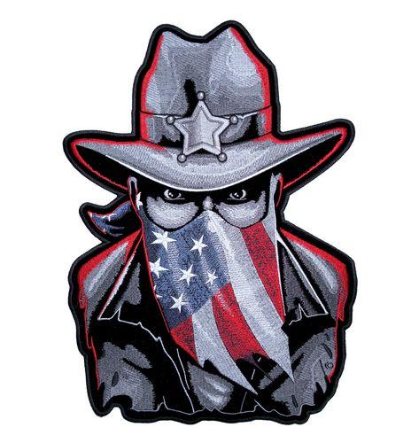 patriotic american western sheriff